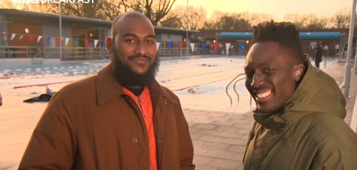 The Two Men Trying to Encourage More People From Black and Ethnic Minority Background to Swim