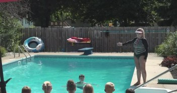 Local woman teaches swim lessons, neighbors want her to stop