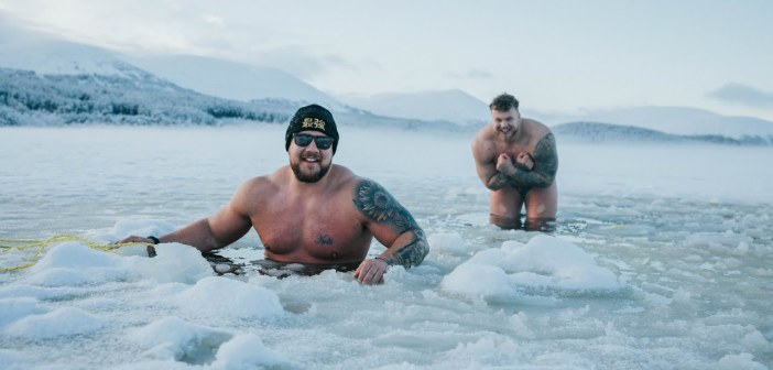 Ice Swimming in World's Coldest Loch |  Stoltman Brothers