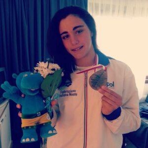 Claudia Tarzia A.S.DILETT. GENOVA NUOTO CAMPIONESSA EUROPEA JUNIORES 2013 100 FARFALLA