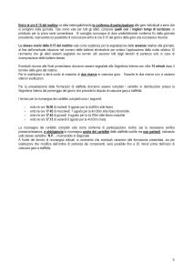 PROGRAMMA ORARIO 6