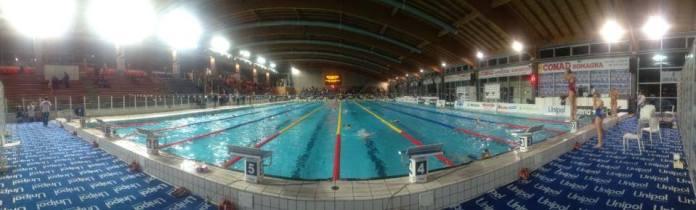 Panoramica stadio del nuoto Riccione