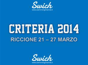 COPERTINA CRITERIA 2014
