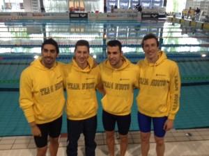 Staffetta_4x100sl_uomini team lombardia