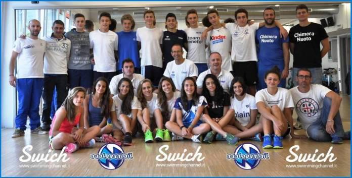 Talenti 2020 - Il gruppo 2014/2015 selezionato da Coach Walter Bolognani