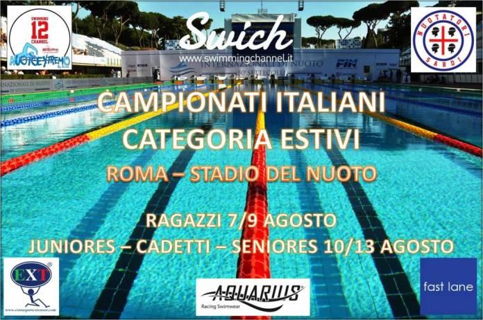 COPERTINA CAMPIONATI ITALIANI ESTIVI 2015