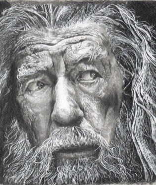 Gandalf by Lorenzo Zazzeri