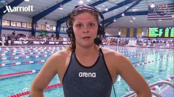 Lotte Friis vince 400 e 800 stile libero a Orlando