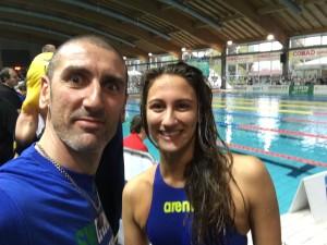 Simona Quadarella e Corrado Sorrentino