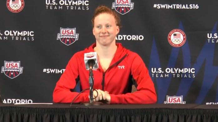 Lilly King - ph. Swimmingchannel.it