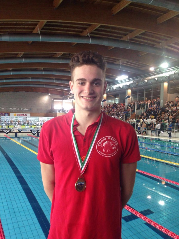 Eurojunior 2016 - Luca Chirico - ph.Team Nuoto Sport Management