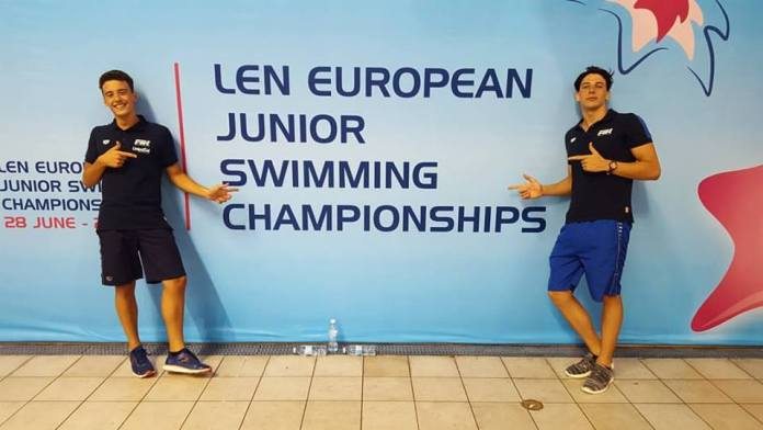 Loenzo Biancalana e Filippo Dal Maso