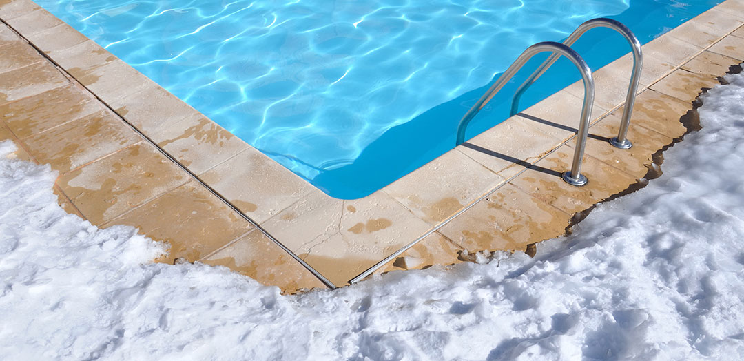 protect your pool spa from freeze damage