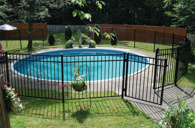 Fence Swimming Pool Now