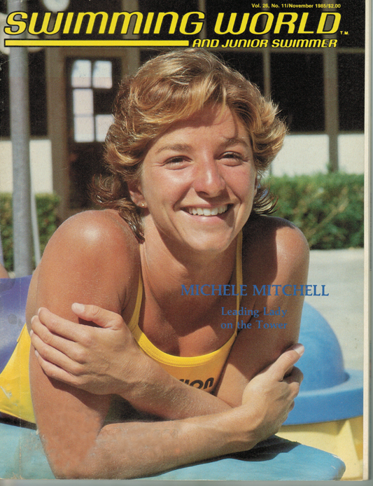 Swimming World Magazine November 1985 Issue- PDF ONLY - Cover