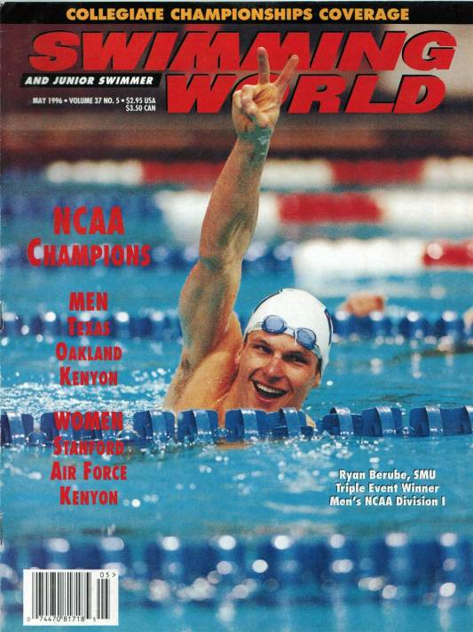 Swimming World Magazine May 1996 Issue- PDF ONLY - Cover