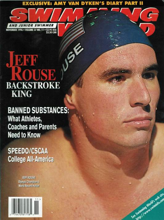 Swimming World Magazine November 1996 Issue- PDF ONLY - Cover