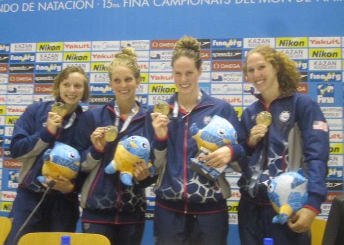 800 freestyle relay at 2013 world championships