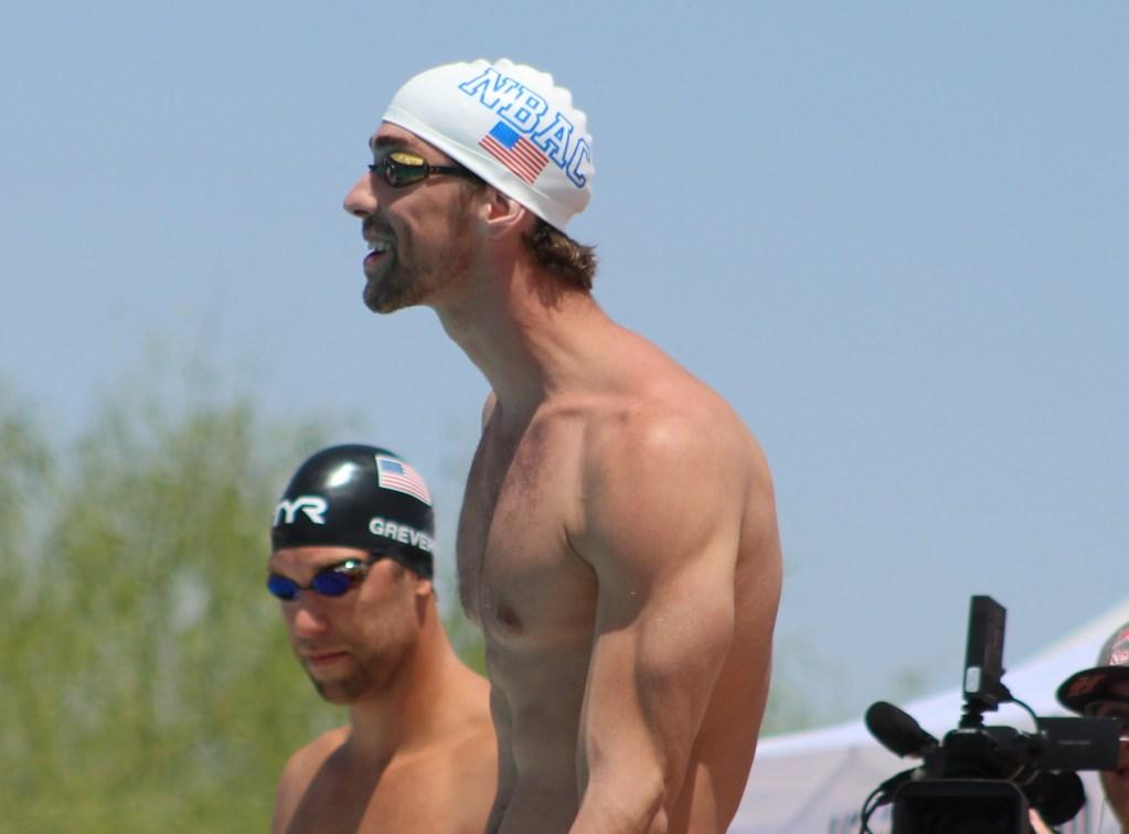 Michael Phelps swimmers posture