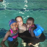Daraja kids learn to swim