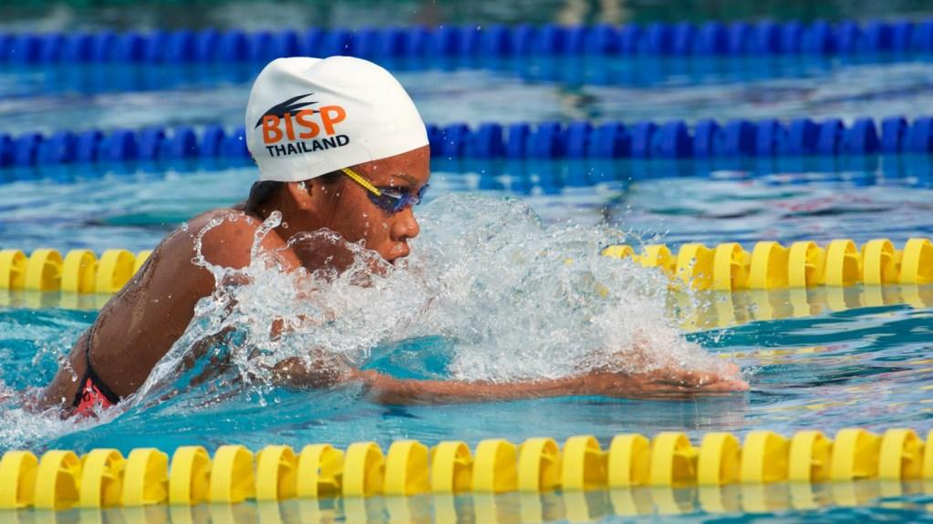 Eing Pawapotako Olympic swimming