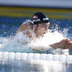 Jun 19, 2015; Santa Clara, CA, USA; Cody Miller (USA) won the Men's 100M Breaststroke Final at the George F. Haines International Swim Center in Santa Clara, Calif. Mandatory Credit: Bob Stanton-USA TODAY Sports