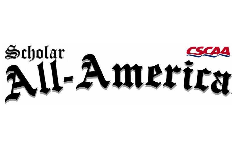 CSCAA Announces 2015 Scholar All-America Teams