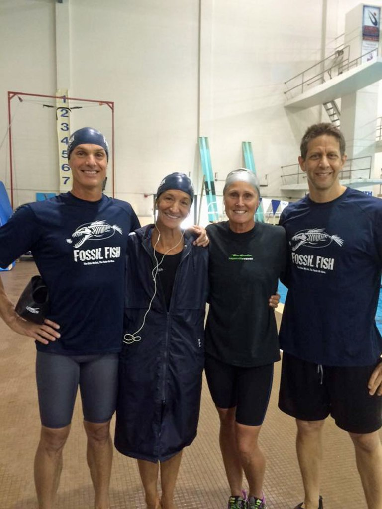 Illinois Masters world record relay