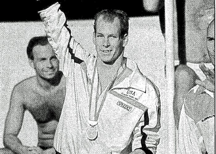 Tom Jager 1986 world championships