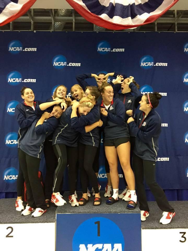 arizona-women's-team-NCAA-2015