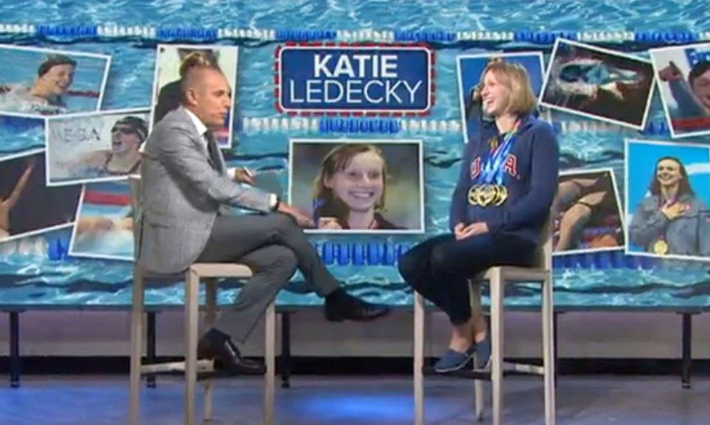 Katie Ledecky Today show