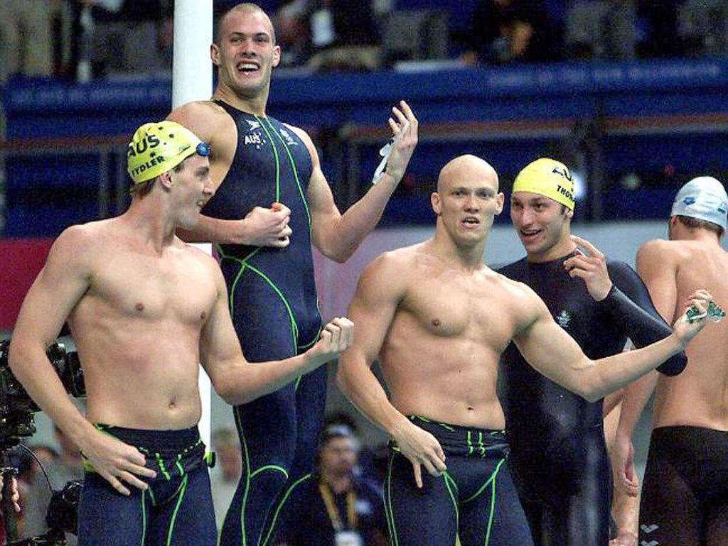 400 free relay 2000 Olympics