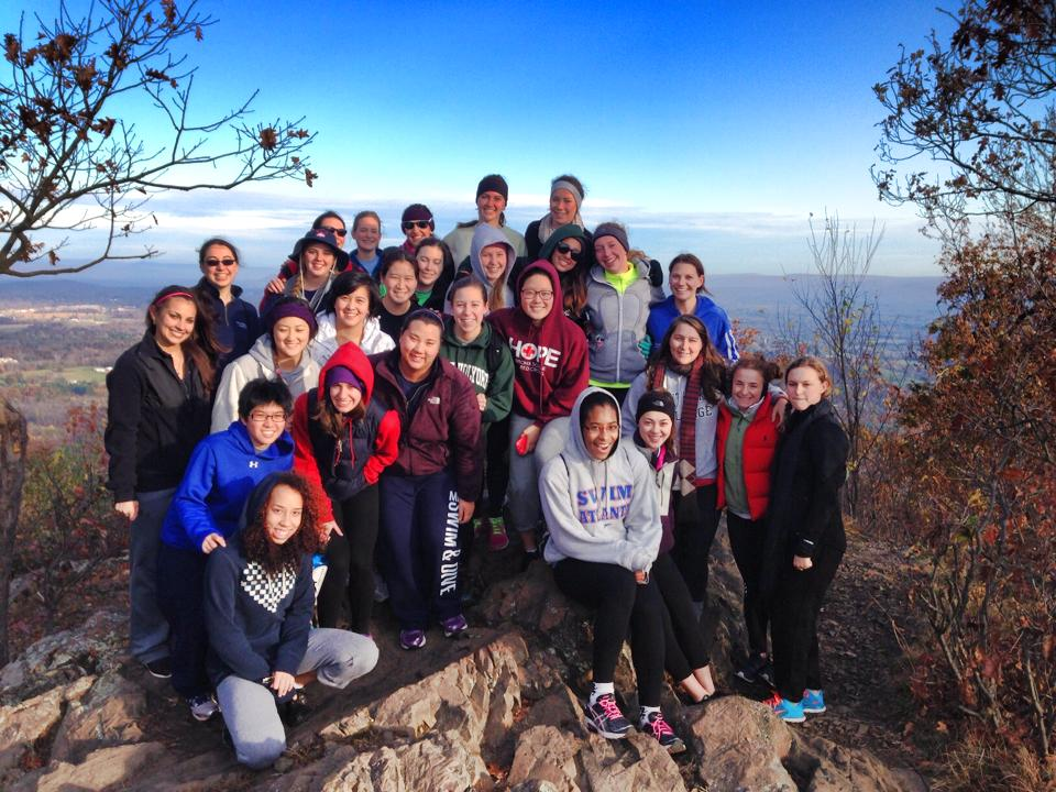 mount-holyoke-team-bonding-hiking