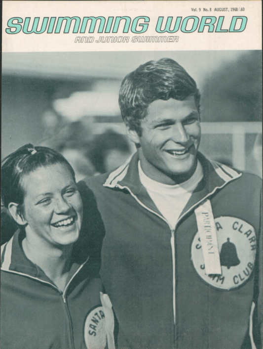 Swimming World Magazine August 1968 Issue- PDF ONLY - Swimming World