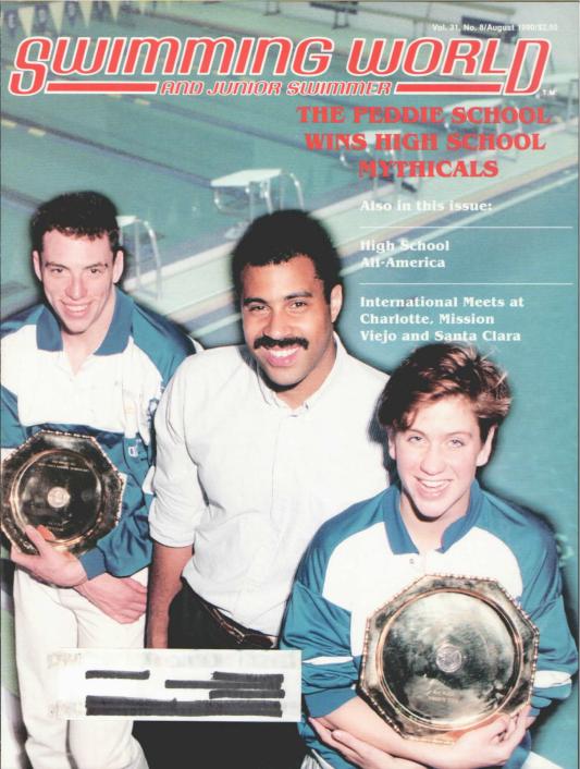 swimming-world-magazine-august-1990-cover