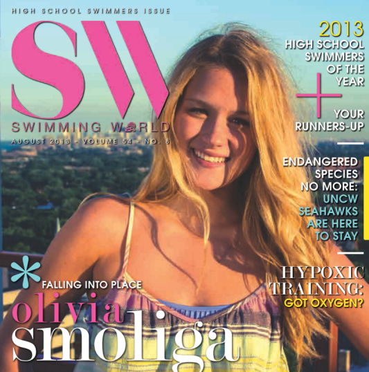 Swimming World Magazine August 2013 Issue- PDF ONLY - Cover