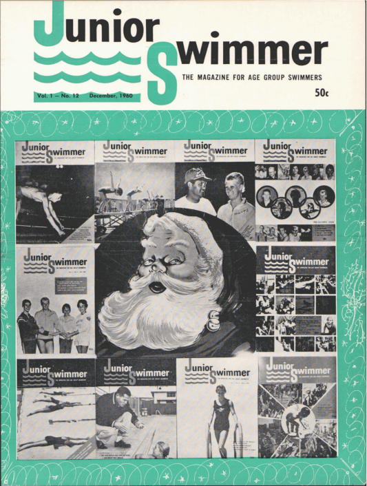 Swimming World Magazine December 1960 Issue- PDF ONLY - Cover