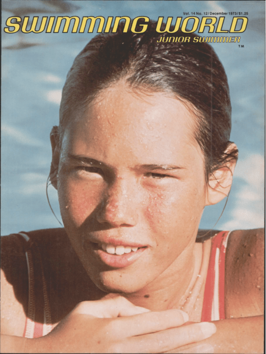 Swimming World Magazine December 1973 Issue- PDF ONLY - Cover