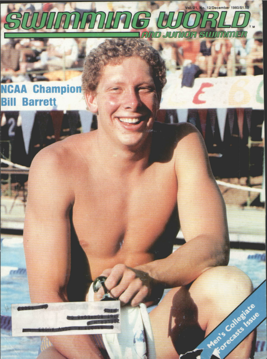 Swimming World Magazine December 1980 Issue- PDF ONLY - Cover