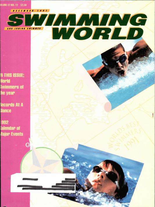 swimming-world-magazine-december-1991-cover
