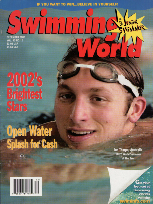 Swimming World Magazine December 2002 Issue- PDF ONLY - Cover