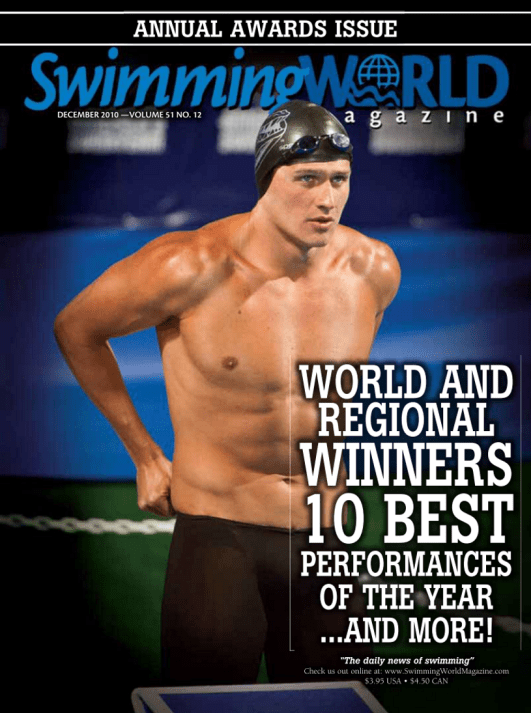 Swimming World Magazine December 2010 Issue- PDF ONLY - Cover