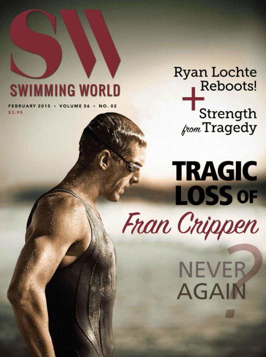 Swimming World Magazine February 2015 Issue - PDF ONLY - Cover