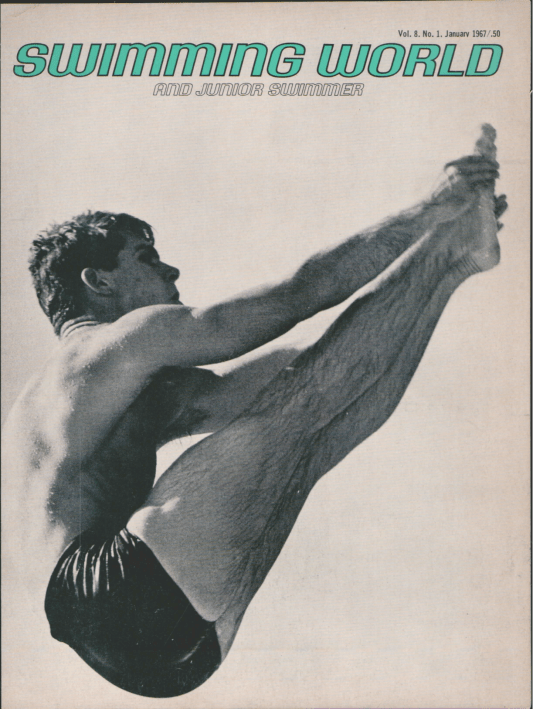 Swimming World Magazine January 1967 Issue- PDF ONLY - Cover