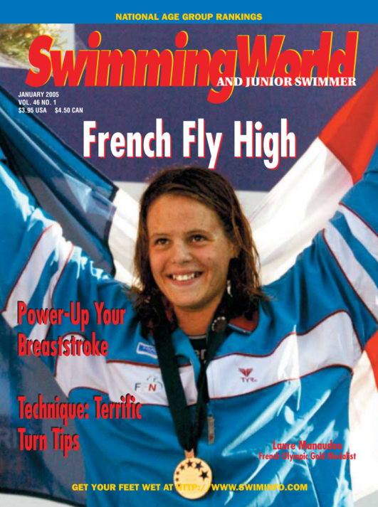 Swimming World Magazine January 2005 Issue- PDF ONLY - Cover