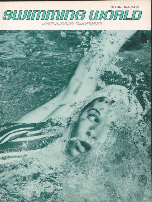 Swimming World Magazine July 1968 Issue- PDF ONLY - Cover