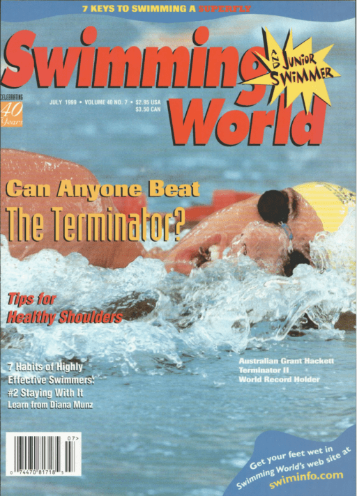 Swimming World Magazine July 1999 Issue- PDF ONLY - Cover