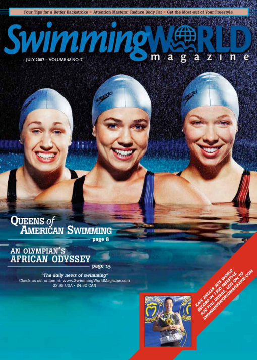 Swimming World Magazine July 2007 Issue- PDF ONLY - Cover