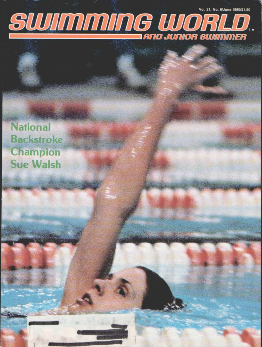 Swimming World Magazine June 1980 Issue- PDF ONLY - Cover