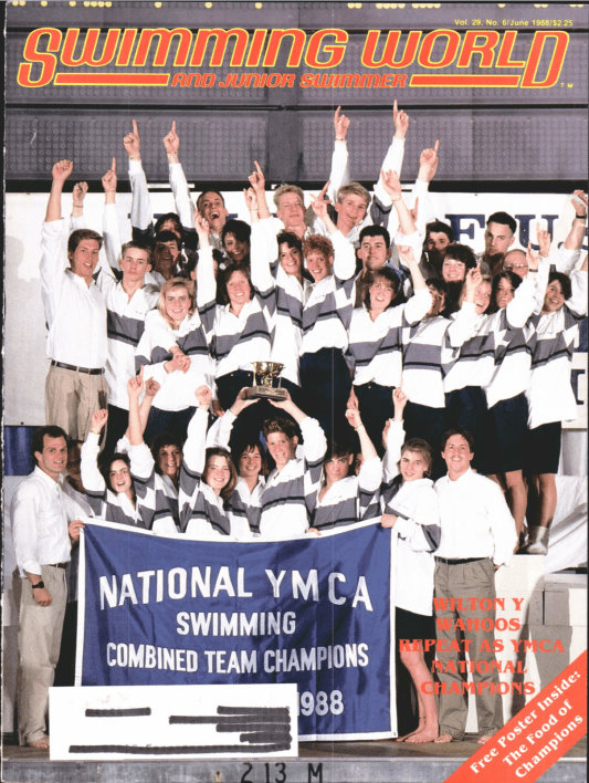 Swimming World Magazine June 1988 Issue- PDF ONLY - Cover